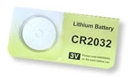 Bateria CR2032 Lithium Cell 3V - Para Bóias Luminosas