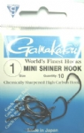 Anzol Gamakatsu Mini Shiner Hook