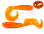 Isca Artificial Grub 3 Cor Orange 20un - Zoom